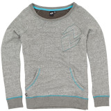 One Industries Women's Amalise French Terry Boatneck Pullover - Utility ATV Womens Casual