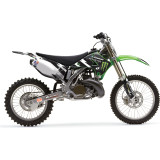 One Industries 2012 Monster Energy Team Graphic Kit - Kawasaki - Dirt Bike Graphic Kits With Seat Covers
