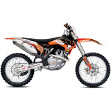 One Industries 2013 Orange Brigade Graphic Kit - KTM - One Industries Dirt Bike Dirt Bike Parts