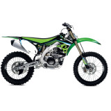 One Industries 2013 Race Graphic Kit - Kawasaki - Dirt Bike Graphic Kits With Seat Covers