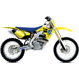 One Industries 2013 Throwback Graphic Kit - Suzuki - One Industries Dirt Bike Dirt Bike Parts