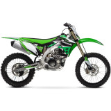 One Industries 2013 Delta Graphic Kit - Kawasaki - One Industries Dirt Bike Dirt Bike Parts