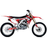 One Industries 2013 World Team Graphic Kit - Honda - Dirt Bike Graphic Kits With Seat Covers