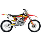 One Industries 2014 FMF Graphic Kit - Honda - Motocross Graphics & Dirt Bike Graphics