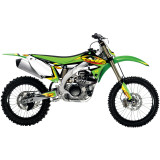 One Industries 2014 FMF Graphic Kit - Kawasaki - Motocross Graphics & Dirt Bike Graphics