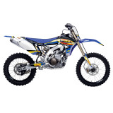 One Industries 2014 FMF Graphic Kit - Yamaha - Motocross Graphics & Dirt Bike Graphics