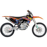 One Industries 2014 Orange Brigade Graphic Kit - KTM - Motocross Graphics & Dirt Bike Graphics
