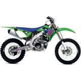 One Industries 2014 Throwback Limited Edition Graphic Kit - Kawasaki - Motocross Graphics & Dirt Bike Graphics