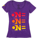 One Industries Women's Decline Scoop Neck T-Shirt - Utility ATV Womens Casual