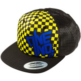 One Industries Youth Chex Snapback Hat - DRIVEN-INDUSTRIES Driven ATV