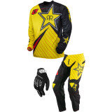One Industries 2014 Atom Combo - Rockstar - Utility ATV Riding Gear