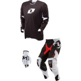 One Industries 2014 Gamma Combo - Icon - Utility ATV Pants, Jersey, Glove Combos