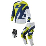 One Industries 2014 Atom Combo - Traverse - Utility ATV Pants, Jersey, Glove Combos
