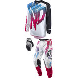 One Industries 2015 Atom Vented Combo - Shred - Dirt Bike Pants, Jerseys, Gloves, Combos