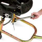 Pit Bull Axle Holder - Motorcycle Stands & Ramps