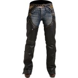 Pokerun Women's Marilyn 2.0 Chaps - Pokerun Motorcycle Pants and Chaps