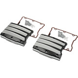 Performance Machine Rocker Box Covers - Scallop - Cruiser Engine Parts & Accessories