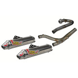 Pro Circuit TI-4 GP Complete Exhaust - Dual - Dirt Bike Exhaust Systems & Accessories