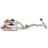 Pro Circuit T-6 Complete Exhaust - Dual - Dirt Bike Exhaust Systems & Accessories