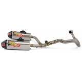 Pro Circuit Ti-6 Complete Exhaust - Dual - Dirt Bike Exhaust Systems & Accessories