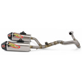 Pro Circuit Ti-6 Pro Complete Exhaust - Dual - Dirt Bike Exhaust Systems & Accessories