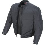Power Trip Jet Black II Jacket -  Motorcycle Jackets and Vests