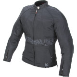 Power Trip Women's Jet Black II Jacket -  Motorcycle Jackets and Vests