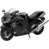 New Ray Toys 1:12 Kawasaki Ninja ZX-14 - Black - Cruiser Toys