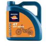 Repsol Moto 4T Off Road Full Synthetic Oil - Fluids & Lubricants