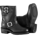 River Road Women's Twin Buckle Engineer Boots - River Road Cruiser Riding Gear