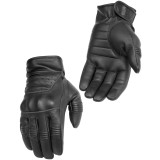 River Road Twin Iron Leather Gloves - Motorcycle Gloves