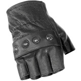 River Road Carlsbad Shorty Leather Gloves - River Road Cruiser Products
