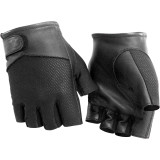 River Road Pecos Shorty Mesh Gloves - River Road Cruiser Products