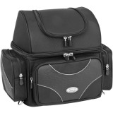 River Road Spectrum Series Textile Sissy Bar Bag - River Road Cruiser Luggage and Racks