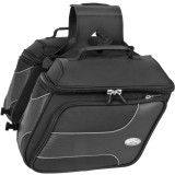 River Road Spectrum Series Slant Textile Saddlebags - River Road Cruiser Luggage and Racks