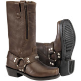 River Road Women's Square Toe Zip Harness Boots - River Road Cruiser Riding Gear