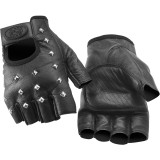 River Road Vegas Shorty Leather Gloves - River Road Cruiser Products