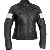 River Road Women's Twin Iron Leather Jacket - River Road Cruiser Riding Gear