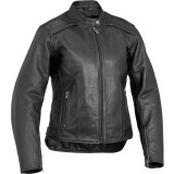 River Road Women's Savannah Cool Leather Jacket - River Road Cruiser Riding Gear