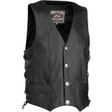 River Road Wyoming Leather Vest