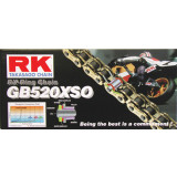 RK 520 GBXSO X-Ring Race Chain - RK-520-XSO-XRING-GOLD-RACE-CHAIN-120-LINKS RK 520 Motorcycle