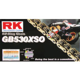 RK 530 GBXSO X-Ring Race Chain -  Motorcycle Chains and Master Links