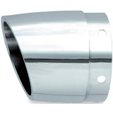 Rush Performance Taper Style Angle Cut Muffler Tip - Cruiser Exhaust Accessories