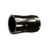 Rush Performance Fluted Contrast Cut Tapered Muffler Tip - 4.0 - Cruiser Exhaust Accessories