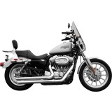 Rush Performance Crossover Series Slash Cut Full System - Cruiser Full Exhaust Systems
