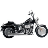 Samson Legend Series Cannons Exhaust - Cruiser Full Exhaust Systems