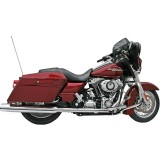 Samson True Dual Crossover Full System With Mufflers - Cruiser Exhaust Systems