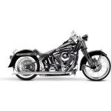 Samson True Dual Crossover Full System With Slip-On Exhaust & Removable Longtail Tips - Cruiser Exhaust Systems
