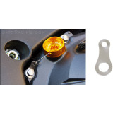 Sato Racing Titanium Locking Plate For Oil Filler Caps - Motorcycle Engine Parts and Accessories