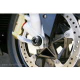 Sato Racing Front Axle Sliders - MV Agusta Motorcycle Body Parts